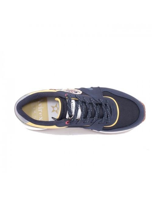 Ανδρικό παπούτσι AVIREX AVX1131654  μπλέ