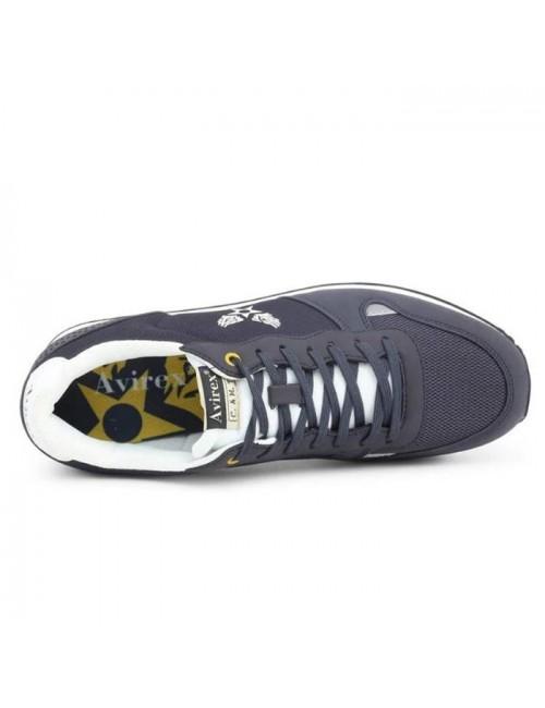 Ανδρικό παπούτσι AVIREX AVX1255048 μπλέ