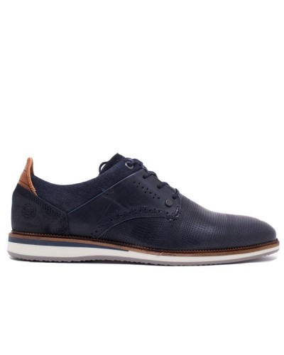 Ανδρικό δερμάτινο παπούτσι BULL BOXER K5775462177S07 Μπλε