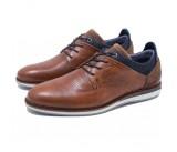 Ανδρικό δερμάτινο παπούτσι BULL BOXER K5775263253207 Ταμπά
