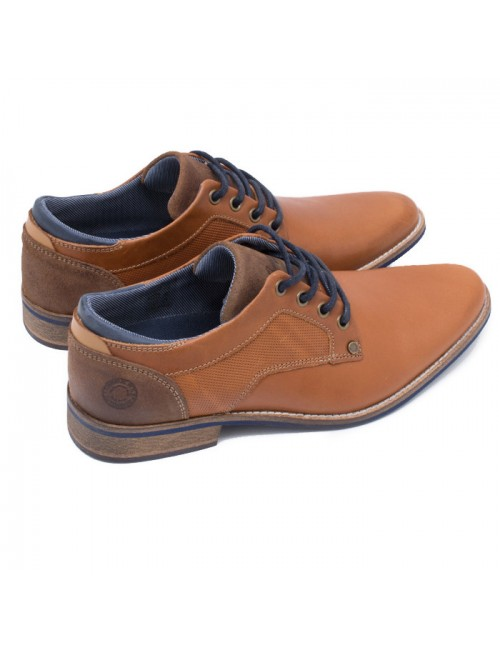 Ανδρικό παπούτσι BULLBOXER ΤΑΜΠΑ ΔΕΡΜΑ I57752832532