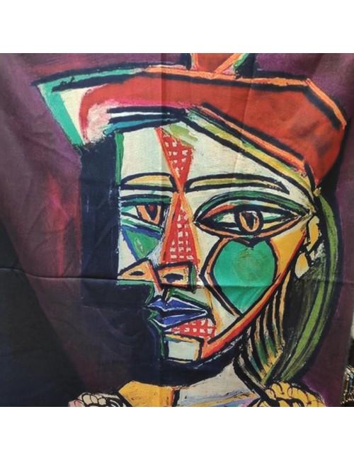 Γυναικεία Πασμίνα Κασμίρ BUYBRAND 1027 Πολύχρωμη