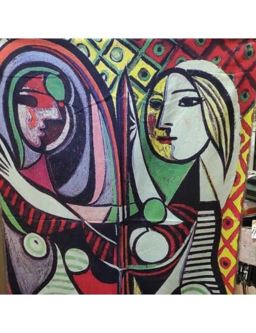 Γυναικεία Πασμίνα Κασμίρ BUYBRAND 1028 Πολύχρωμη