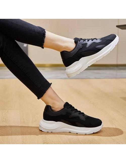 Γυναικεία sneakers BUYBRAND BU3645 μαύρα