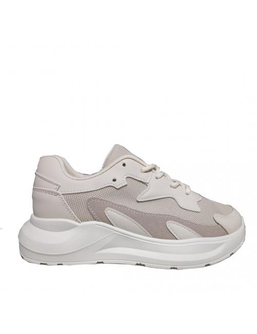 Γυναικεία sneakers BUYBRAND BU3645 μπεζ