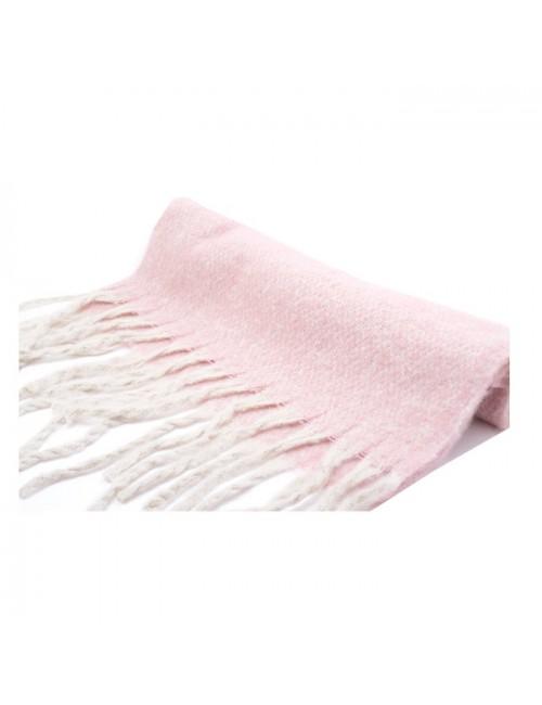 Γυναικεία Πασμίνα Μάλλινη BUYBRAND 1041 ροζ