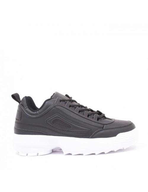 Γυναικεία sneakers BUYBRAND μαύρο LD0940-11