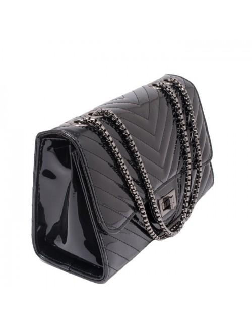 Γυναικεία τσάντα BUYBRAND BU78988 Μαύρη