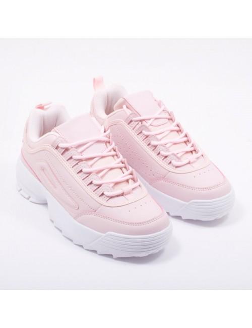 Γυναικεία sneakers BUYBRAND ΡΟΖ D0940-1