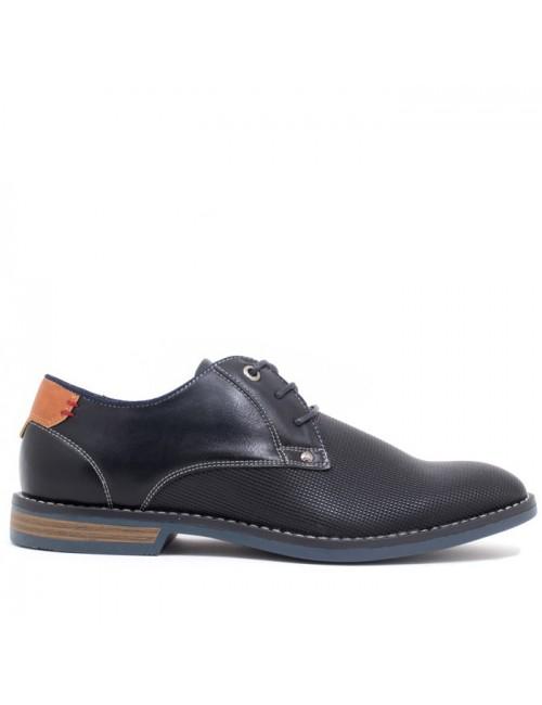 Ανδρικό παπούτσι BUYBRAND B894 ΜΑΥΡΟ