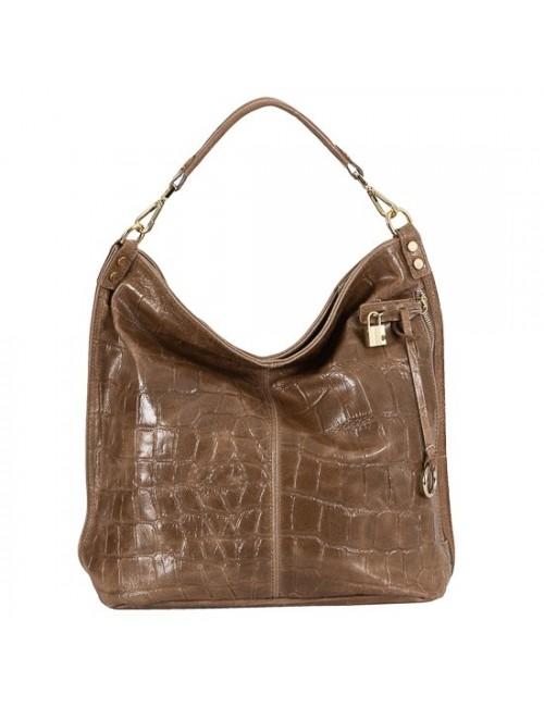 Γυναικεία τσάντα δερμάτινη BU07 Πούρο