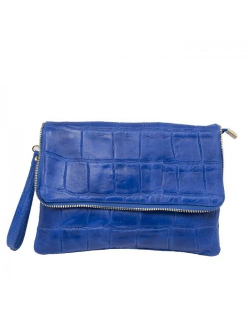 Γυναικείο τσαντάκι χειρός Buybrand BU016 Μπλε