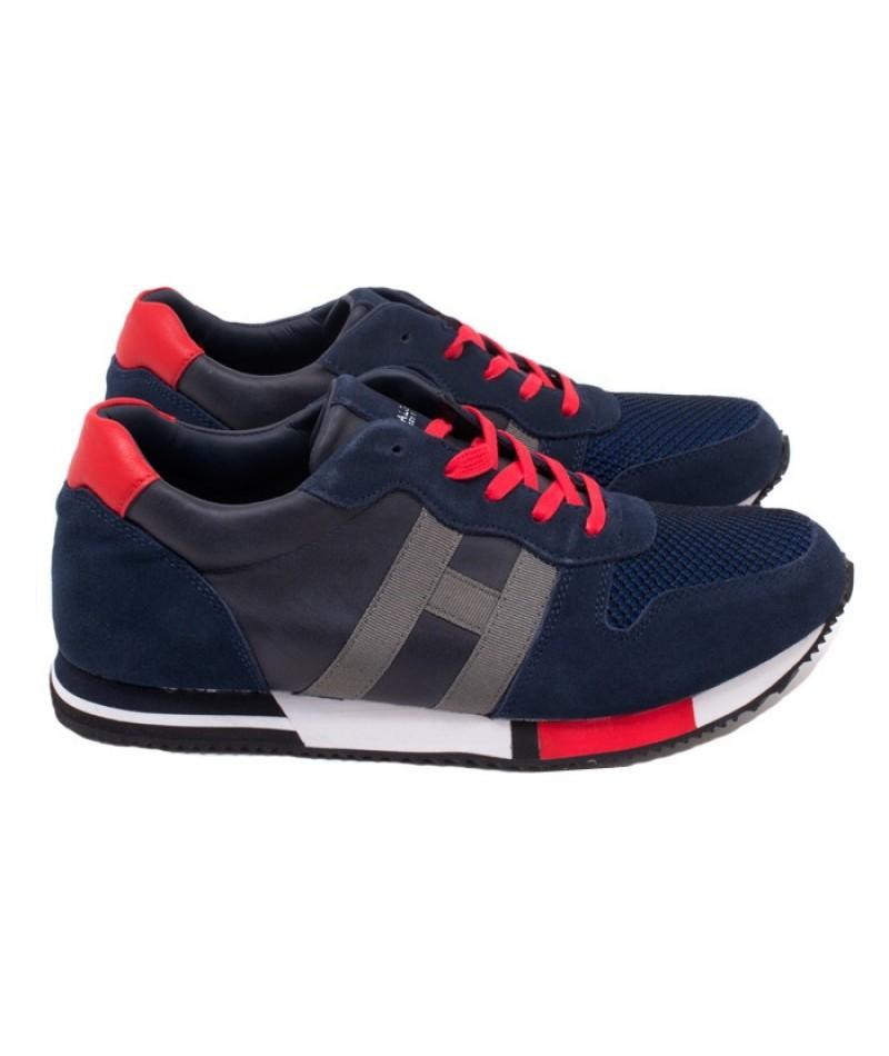 Ανδρικά Sneakers Calgary K57000951051 Μπλέ-Κόκκινο