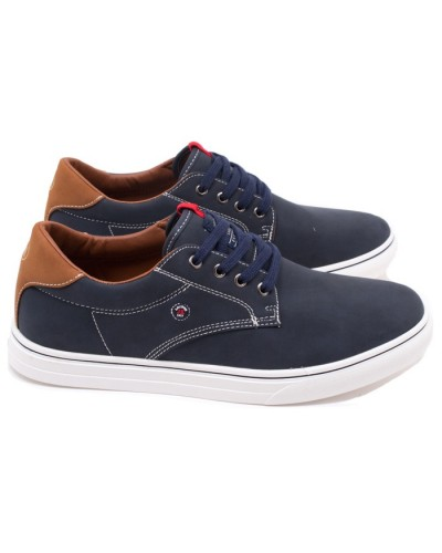Ανδρικά Sneakers JK LONDON K57007331051 Μπλέ(Navy)