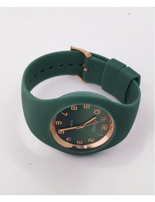 Ρολόι CUCOO με λουρακι σιλικονης 83304 ΠΡΑΣΙΝΟ