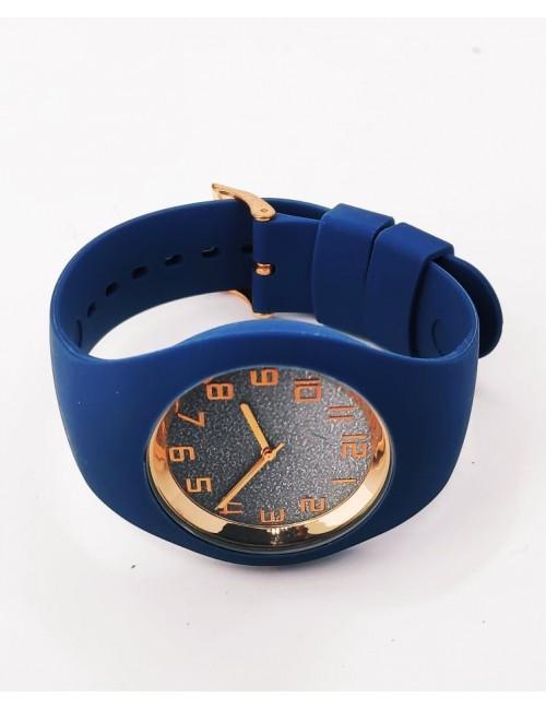 Ρολόι CUCOO με λουρακι σιλικονης 83304 ΜΠΛΕ