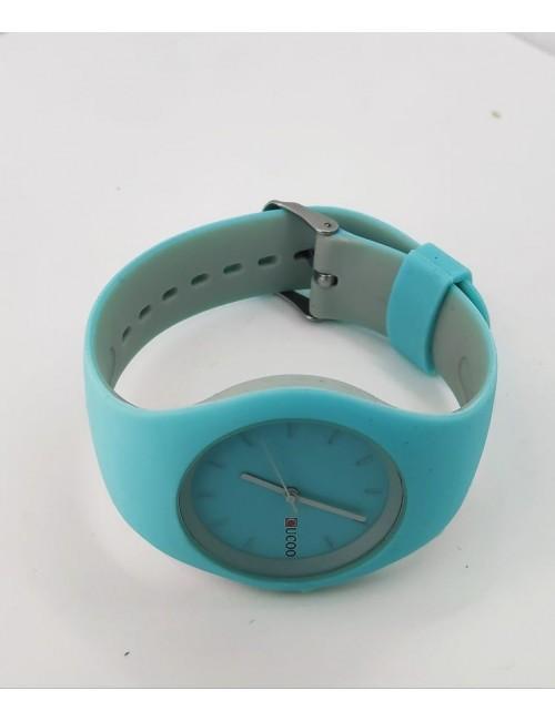 Ρολόι CUCOO με λουρακι σιλικονης 83304 ΓΑΛΑΖΙΟ