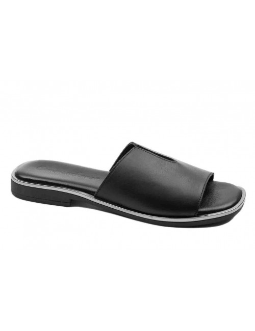 Γυναικείο παπούτσι flat Commanchero 5600-726 Μαύρο