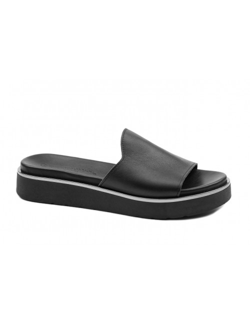 Γυναικείο παπούτσι flat Commanchero 5592-726 Μαύρο