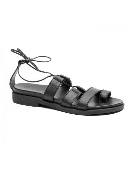 Γυναικείο παπούτσι flat Commanchero 5514-726 Μαύρο