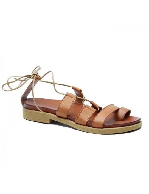 Γυναικείο παπούτσι flat Commanchero 5514-726 Ταμπά