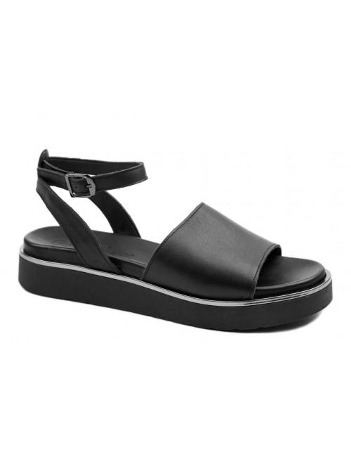 Γυναικείο παπούτσι flat Commanchero 5593-726 Μαύρο
