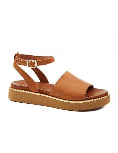 Γυναικείο παπούτσι flat Commanchero 5593-726 Ταμπά