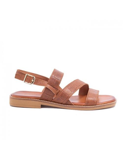 Γυναικείο παπούτσι flat Commanchero 5755-726 ΤΑΜΠΑ