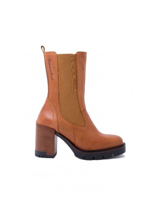 Γυναικείο παπούτσι flat Commanchero 5760-726 ΤΑΜΠΑ