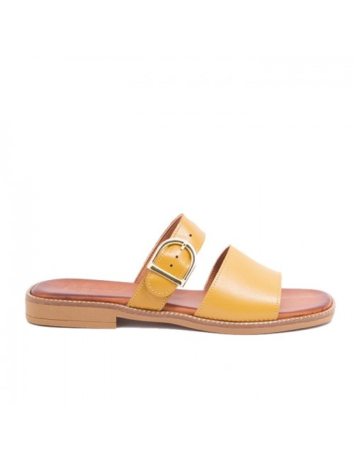 Γυναικείο παπούτσι flat Commanchero 5760-724 ΚΙΤΡΙΝΟ