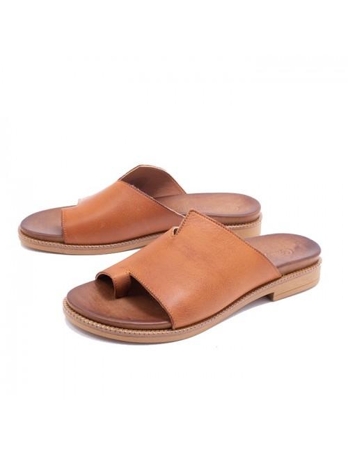 Γυναικείο παπούτσι flat Commanchero 5748-726 ΤΑΜΠΑ