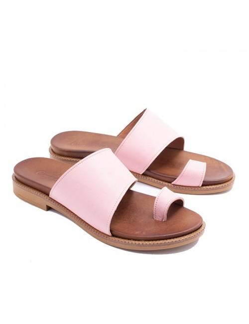 Γυναικείο παπούτσι flat Commanchero 5599-726 ΡΟΖ