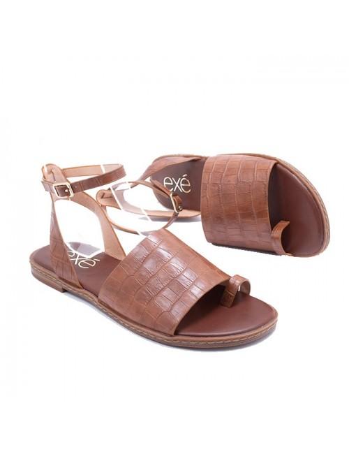 Γυναικείο παπούτσι flat EXE M47007651024 ΤΑΜΠΑ ΚΡΟΚΟ