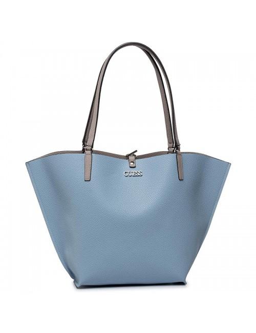 Γυναικεία τσάντα Guess VG74 5523 Λευκή-γαλάζια