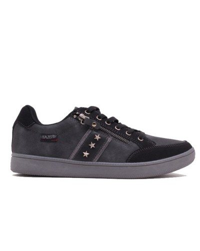 Ανδρικό sneakers ITAZERO XL17112-A ΜΑΥΡΟ