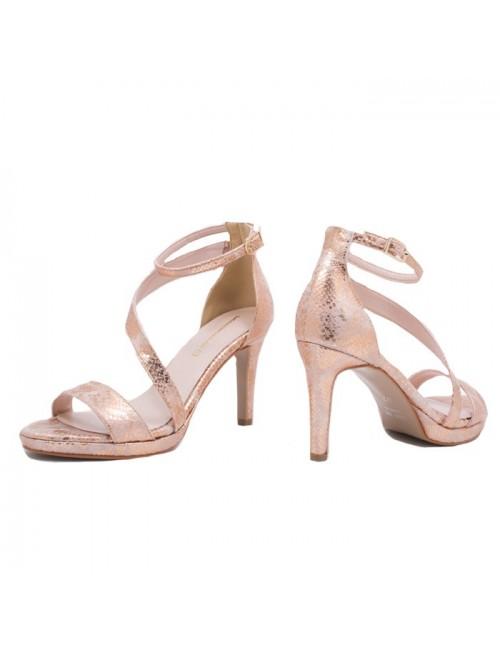 Γυναικείο πέδιλο Katia Shoes Α154967 Χαλκός (Ελληνικό)