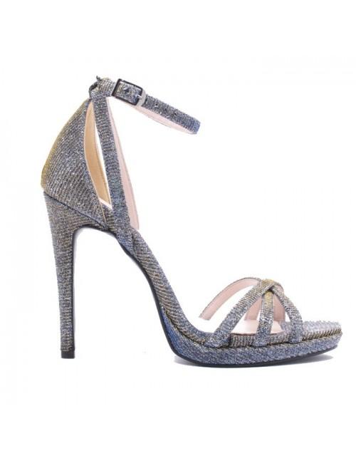 Γυναικείο πέδιλο Katia Shoes Β234924 Πολύχρωμο/Ίριδα (Ελληνικό)