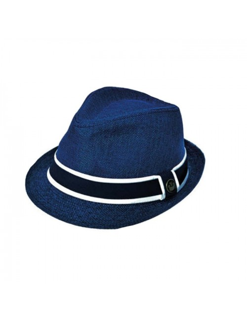 Ανδρικό ψάθινο κάπελο PGaccessories 15307-6 Μπλε