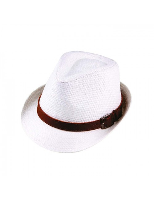 Ανδρικό ψάθινο κάπελο PGaccessories 15312-2 Λευκό