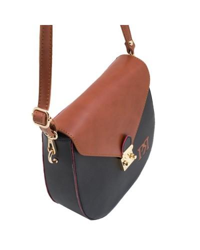 Γυναικεία τσάντα χιαστί Pierro 90547EC5 Μαύρο-Ταμπά