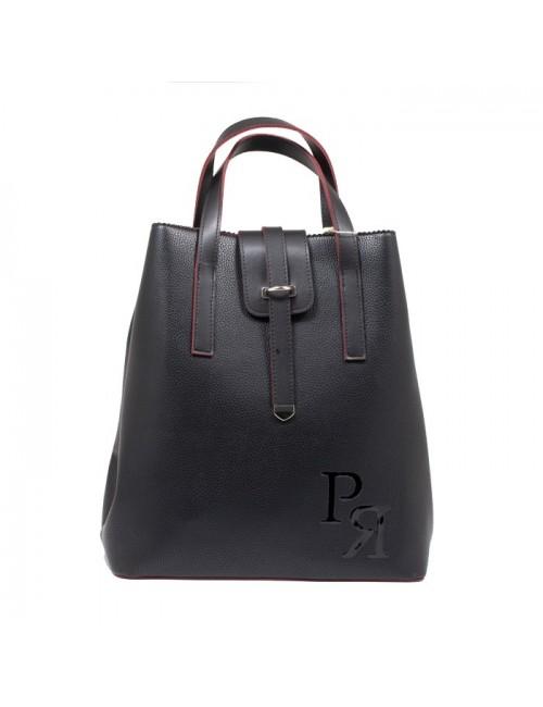 Γυναικείο σακίδιο πλάτης Pierro 905606DL01 Μαύρο