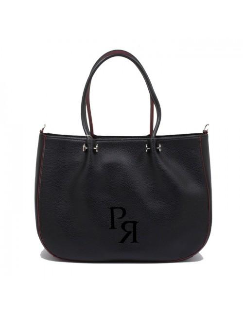 Γυναικεία Τσάντα ώμου Pierro 90601DL01 μαύρο