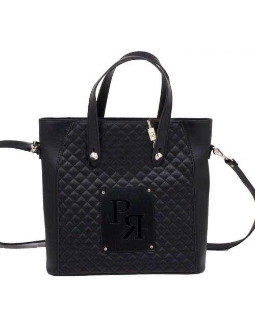 Γυναικεία Τσάντα ώμου Pierro 90594KPT01 μαύρο