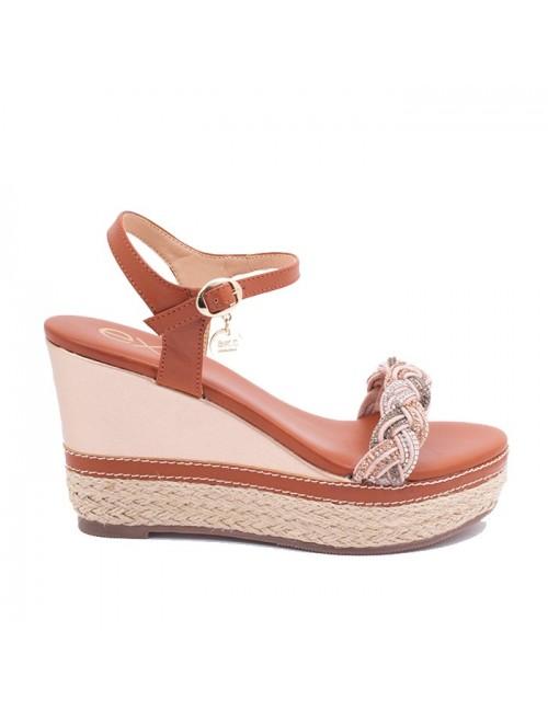 Γυναικείο παπούτσι EXE  M468Q931230T δέρμα ΤΑΜΠΑ