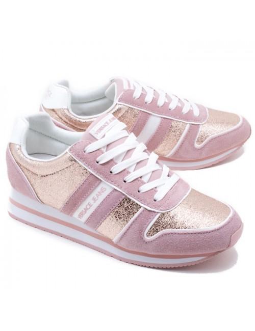 Γυναικείο sneaker Versace jeans 17-10025451 ΡΟΖ
