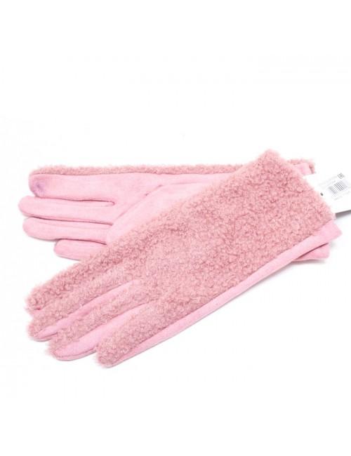 Γυναικεία γάντια verde 02-0000549 Ροζ