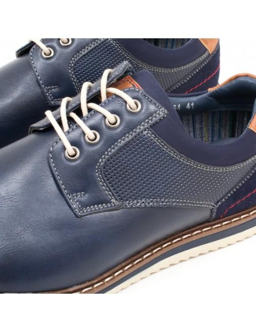 Ανδρικό παπούτσι BUYBRAND B890 ΜΠΛΕ