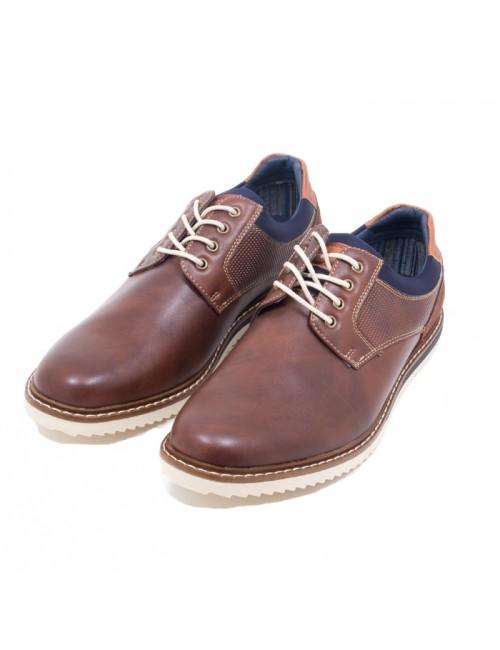Ανδρικό παπούτσι BUYBRAND B895 ΚΑΦΕ