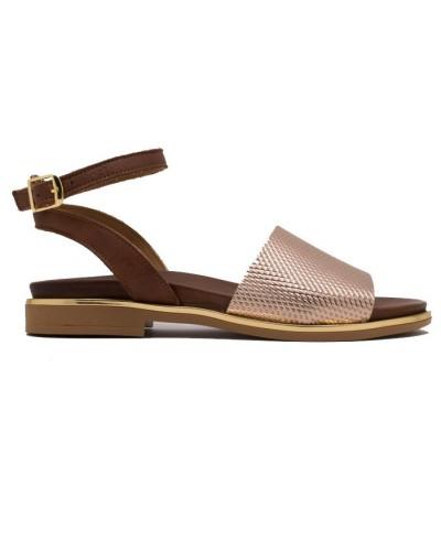 Γυναικείο παπούτσι flat COMMANCHERO 5517-923 ΧΡΥΣΟ