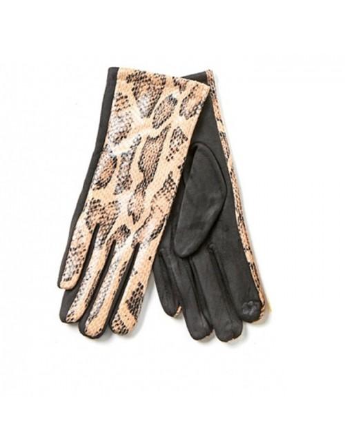 Γυναικεία γάντια verde 02-0000536 Μπέζ